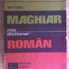 Eva Turcu - Mic dictionar maghiar-roman