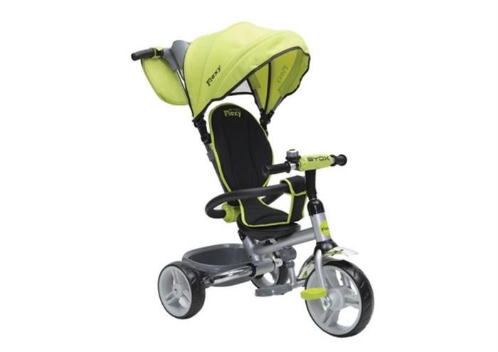 Tricicleta Copii Byox Flexy Verde foto mare