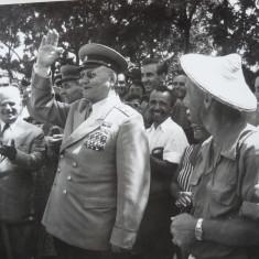 Gheorghiu Dej, 2 vizite oficiale, 2 fotografii - Autograf
