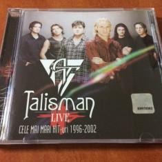 Talisman - Live: Cele Mai Mari Hit-uri 1996-2002 (1 CD) - Muzica Pop mediapro music