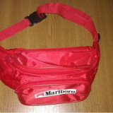 Borseta pentru bani Marlboro cu 5 compartimente ideala pentru vanzatori