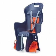 Scaun copii Boodie albastru/portocaliu SpatePB Cod:POL-78851 - Accesoriu Bicicleta