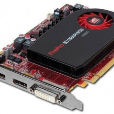 Placa Grafica Profesionala 3D AMD FireGL V4800 1GB DDR5 Dual DP- Workstation! - Placa video PC AMD, PCI Express