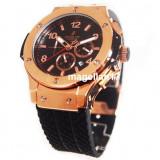 Big Bang Automatic Golden Case ! ! ! Calitate Premium ! - Ceas barbatesc, Lux - elegant, Mecanic-Automatic, Inox, Cauciuc, Ziua si data