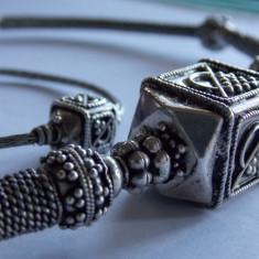 Colier si bratara argint Vintage -1307