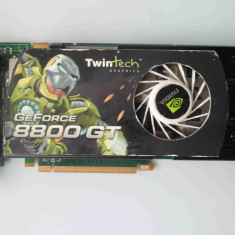Placa Video Twintech GeForce 8800 GT 512MB DDR3 256biti PCI-E - Placa video PC NVIDIA, PCI Express, nVidia