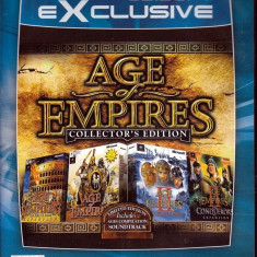 Age Of Empire Collector's Edition - Jocuri PC Microsoft Game Studios, Strategie, 12+