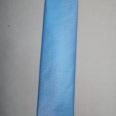 Cravate rafinate, modele clasice, combinatii de nuante albastre (Culoare: ALBASTRU, Marime: UNIVERSAL) - Cravata