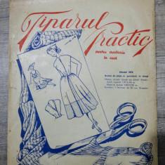 Tiparul practic pentru croitorie in casa/model 302, rochie de plaja cu garnitura