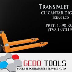 Transpalet 2.5T cu Cantar Digital - Transpaleti