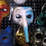 Masca carnaval venetiana, Marime: Marime universala, Culoare: Din imagine