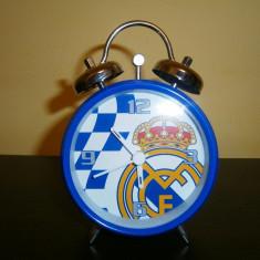 Ceas desteptator pentru copii emblema Real Madrid! - Ceas copii