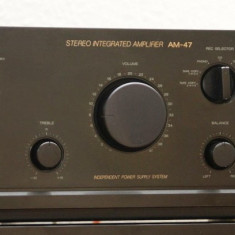 Amplificator AM-47 - Amplificator audio Akai, 81-120W