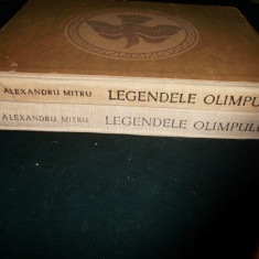 Legendele Olimpului (2 Vol./ Zeii -eroii)- Al. Mitru(cartonate) - Carte educativa
