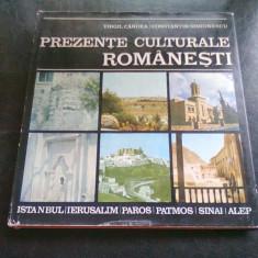 PREZENTE CULTURALE ROMANESTI - ISTANBUL. IERUSALIM. PALOS. PATMOS. SINAI. ALEP