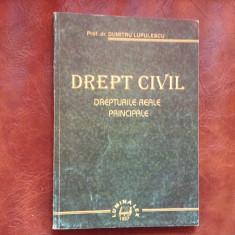 Carte - Drept civil / drepturi reale principale de Dumitru Lupulescu - 270 pag !