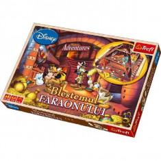 Jocul Blestemul faraonului, marca Trefl, 2-4 jucatori, 5-10 ani!