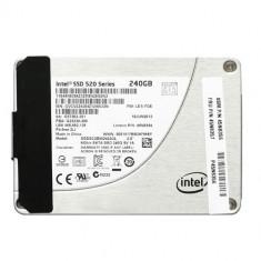 SSD INTEL 520 SERIES, 240GB SATA 6.0Gb/s r550MB/s w520MB/s - garantie, SATA 3