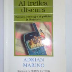 ADRIAN MARINO/SORIN ANTOHI - AL TREILEA DISCURS