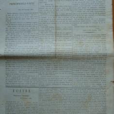Ziarul Steoa Dunarei, Zimbrulu si Vulturulu ; Steaua Dunarii, nr. 22, 1860