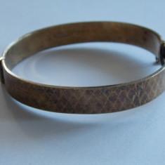 Bratara argint placata cu aur de 22 Karate vintage -1322