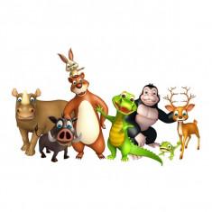 Sticker perete animale/autocolant/ wall art 3d