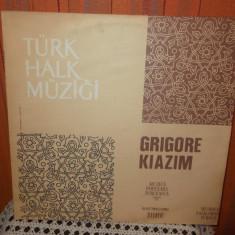 -Y- GRIGORE KIAZIM - MUZICA POPULARA TURCEASCA DISC VINIL LP