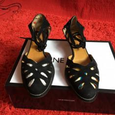 Sandale – ZARA - Sandale dama Zara, Culoare: Negru, Marime: 37