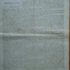 Ziarul Steoa Dunarei, Zimbrulu si Vulturulu ; Steaua Dunarii, nr. 23, 1860