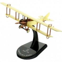 Macheta avion Curtis JN-4 Jenny - USA - 1916 - scara 1:100 - Macheta Aeromodel