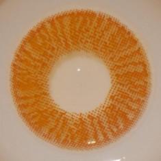 Lentile de contact unicolore, poze reale, Miere
