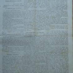 Ziarul Steoa Dunarei, Zimbrulu si Vulturulu ; Steaua Dunarii, nr. 65, 1860