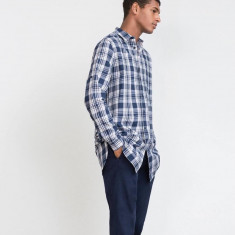Camasa barbati Zara, Marime: L, Culoare: Albastru