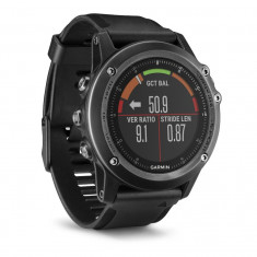 Garmin 3 Hr Sapphire Edition Bundle Centura Inot Garmin Tri - Smartwatch Garmin, Alte materiale, Negru, watchOS, 8 GB