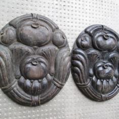 g Ornamente vechi din lemn sculptat pentru mobilier antic Art Deco