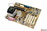 Kit Placa de baza Asus socket A + procesor AMD Athlon 1.04 GHz + Cooler , Aa7n8x-x, Pentru AMD
