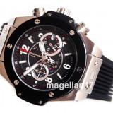 Big Bang Unico Chronograph Silver Case ! ! ! Calitate Premium ! - Ceas barbatesc, Lux - elegant, Quartz, Inox, Cauciuc, Cronograf