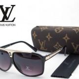 Ochelari Louis Vuitton Evidence Z0105E Rama neagra / auriu