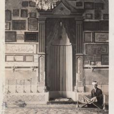 ADA KALEH MOSCHEE FOTOGRAF OMER FEYZI BORAY ADA - KALEH CIRC. STAMPILA TREN - Carte Postala Oltenia dupa 1918, Circulata, Fotografie