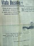 Viata Buzaului 1 iunie 1973 petrolisti Gh. Coman sculptura ziua copilului