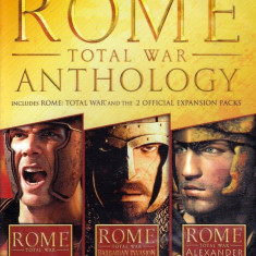 Rome Total War Anthology/ PC - Jocuri PC Activision, Strategie, 16+
