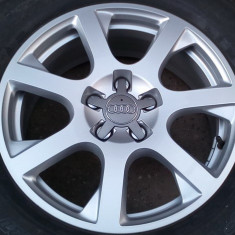 Jante originale AUDI-VW-Skoda-Seat R17-5x112(Q5, Golf7, Tiguan, Leon, Altea)-ca noi - Janta aliaj Audi, Latime janta: 7, Numar prezoane: 5
