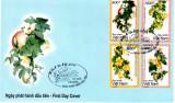 VIETNAM 2006, FDC,  FLORA, Asia