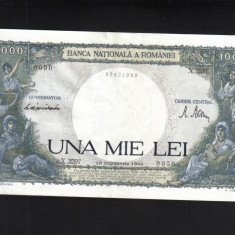 [ Y ] - Romania 1000 lei 10 Octombrie 1944 UNC - Bancnota romaneasca