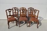 Set 6 scaune neo-baroc