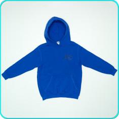 FRUMOS, PRACTIC _ Hanorac din bumbac, B & C _ baieti | 9-10-11 ani | 134-146 cm, Marime: Alta, Culoare: Albastru