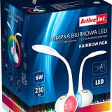 Lampa de birou LED, 6W, rainbow RGB, touch, ActiveJet