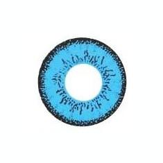 Lentile de contact colorate Dolly Eye Blue, poze reale