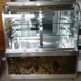 Vitrina frigorifica functionala inox- 1,2m lungime
