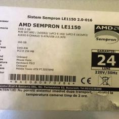Unitate PC pret rezonabil - Sisteme desktop fara monitor AMD, AMD Sempron